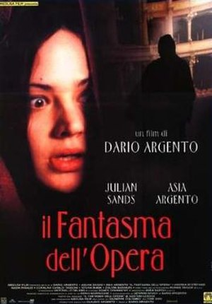 The Phantom of the Opera (1998 film) - Italian theatrical poster