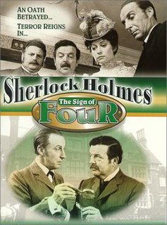 <i>The Sign of Four</i> (1983 film) 1983 British television film directed by Desmond Davis