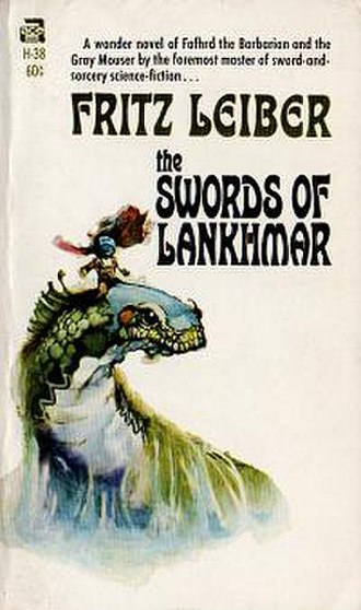 The Swords of Lankhmar - cover art from first edition