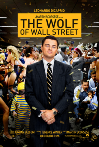 The Wolf of Wall Street (2013 film) - Theatrical release poster