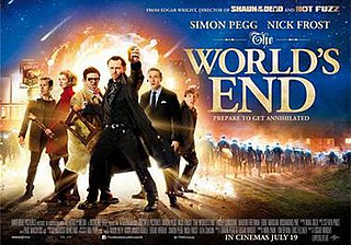 <i>The Worlds End</i> (film) 2013 comedic science fiction film by Edgar Wright