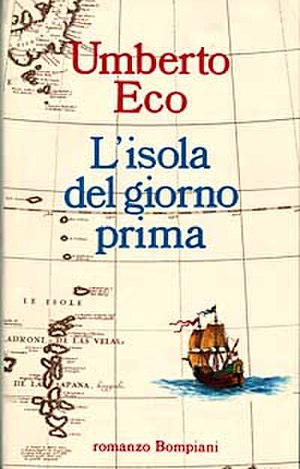 The Island of the Day Before - First edition (Italian)