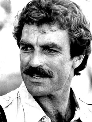 Tom Selleck - Magnum, P.I. publicity photo, 1980
