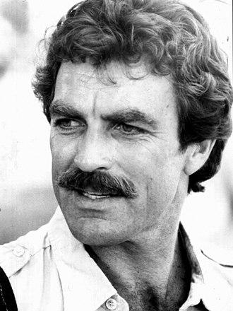 Tom Selleck - Magnum, P.I. publicity photo, 1980