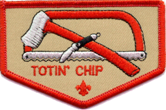 Totin' Chip - Totin' Chip temporary patch