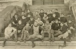 1896 Tulane Olive and Blue football team - Image: Tulane Football 1896