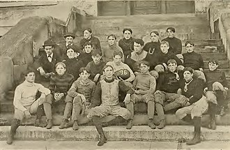 1896 Tulane Olive and Blue football team - Image: Tulane Football 1896