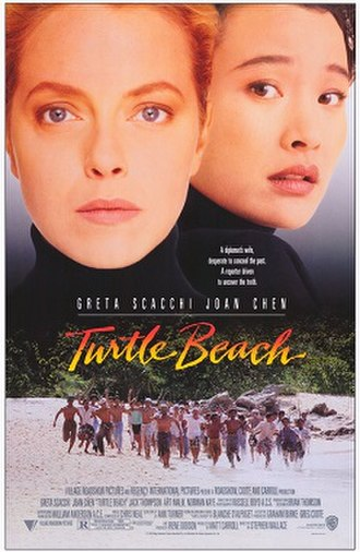 Turtle Beach (film) - Theatrical release poster