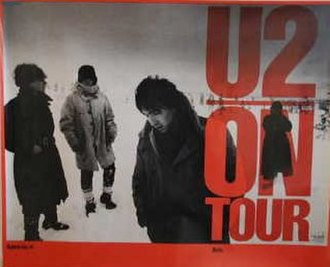 War Tour - Promo poster