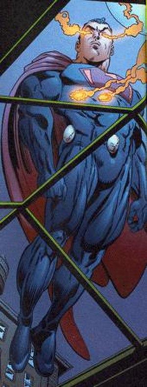Ultraman (comics) - Image: Ultramanburns