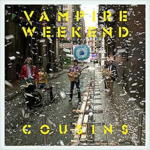 Cousins (song) - Image: Vamp Week Cousins Single