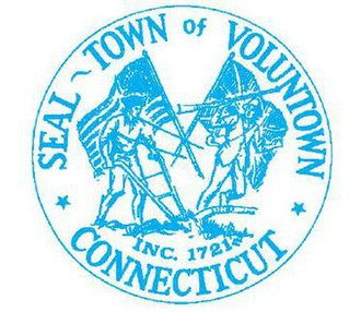 Voluntown, Connecticut - Image: Voluntown C Tseal