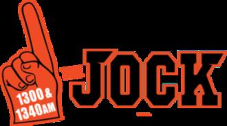 WJYP - Image: WJYP The Jock 1300 1340 logo