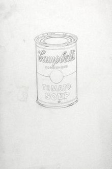 Campbell S Tomato Soup Original Painting