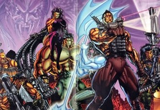 Wetworks (comics) - Wetworks original team of (vol. 1)