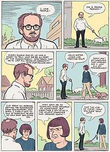 Interesting Eggers comic strip