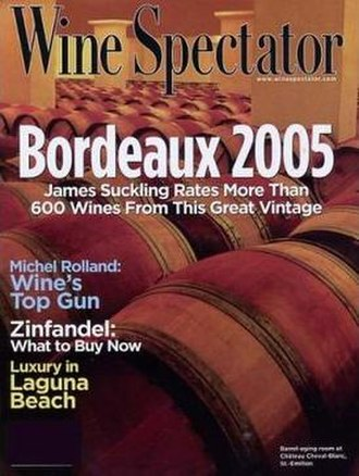 Wine Spectator - Image: Wine spectator front