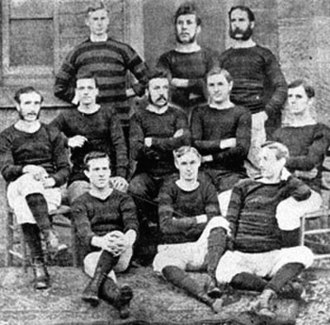 1877–78 Welsh Cup - The Wrexham side that won the first Welsh Cup in 1878
