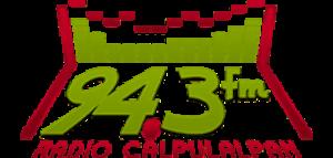 XHCAL-FM - Image: XHCAL 94.3radiocalpulalpan logo