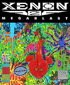Box art, Amiga version
