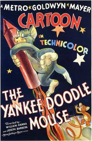 The Yankee Doodle Mouse - Theatrical poster