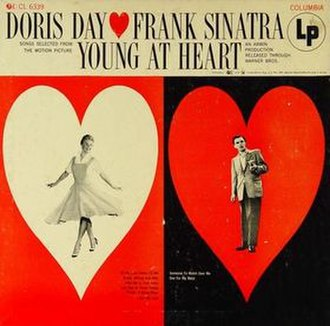 Young at Heart (Doris Day and Frank Sinatra album) - Image: Young at Heart (Doris Day and Frank Sinatra album) cover