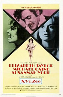 <i>Zee and Co.</i> 1972 film by Brian G. Hutton