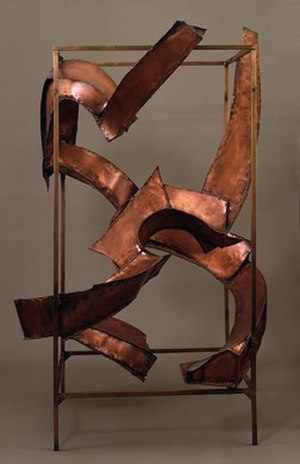 Herbert Ferber - Herbert Ferber, Homage to Piranesi V, copper, 1965-6, National Gallery of Art (Washington, D. C.)