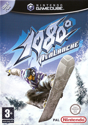 1080° Avalanche - North American cover art