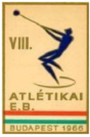 1966 European Athletics Championships - Image: 1966 European Athletics Championships logo