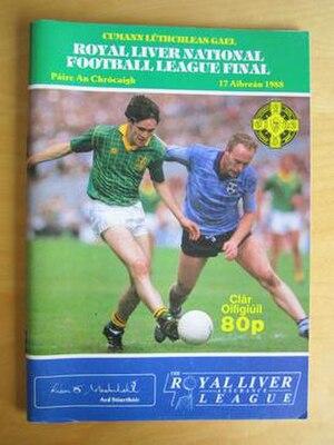 1987–88 National Football League (Ireland) - Image: 1987–88 National Football League Final