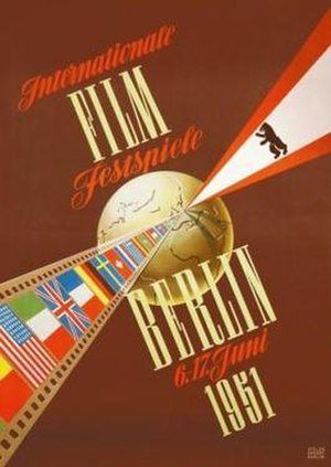 1st Berlin International Film Festival - Festival poster