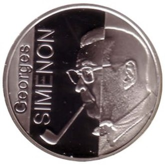 Georges Simenon - The 100 Years of Georges Simenon coin