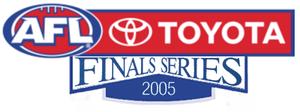 2005 AFL finals series - Image: 2005AFLFinals Series