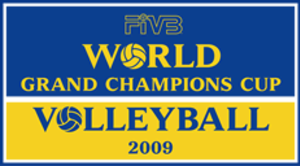 2009 FIVB Volleyball Men's World Grand Champions Cup - Image: 2009 FIVB World Grand Champions Cup logo