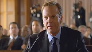 24 (season 7) - Jack Bauer testifying.