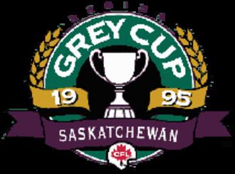 83rd Grey Cup - Image: 83rd Grey Cup logo