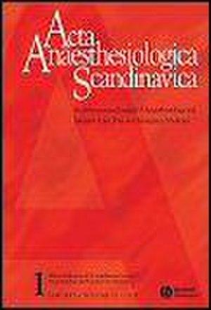 Acta Anaesthesiologica Scandinavica - Image: Acta Anaesthesiologica Scandinavica Cover
