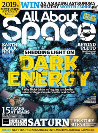All About Space - All About Space front cover, issue 85