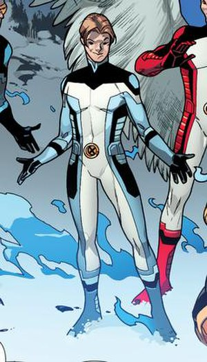 Iceman (Marvel Comics) - The young time-displaced Iceman by Stuart Immonen