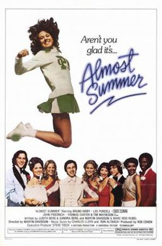 Almost Summer - Theatrical Poster