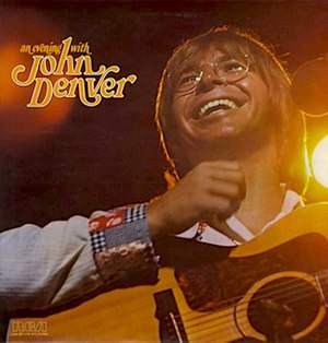 An Evening with John Denver - Image: An Evening with John Denver album cover