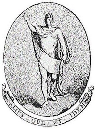 Apollo University Lodge - Logo of the Apollo University Lodge, Oxford, depicting the classical god Apollo.