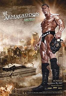 Armageddon (2007) 2007 World Wrestling Entertainment pay-per-view event