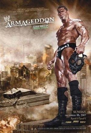 Armageddon (2007) - Promotional poster showcasing Batista