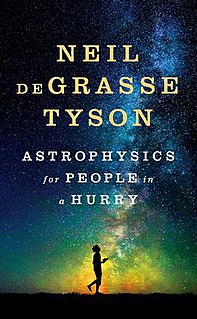 <i>Astrophysics for People in a Hurry</i> book by Neil deGrasse Tyson