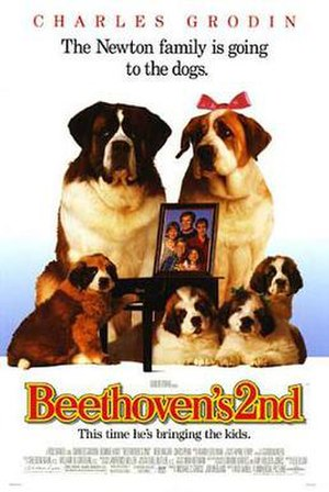 Beethoven's 2nd (film) - Theatrical release poster