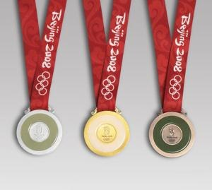 Sailing at the 2008 Summer Olympics - Image: Beijingolympicsmedal s