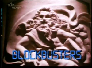 Blockbusters (UK game show) - Title screen for original version of show (1986–93)