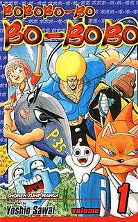 <i>Bobobo-bo Bo-bobo</i> Japanese manga and anime series